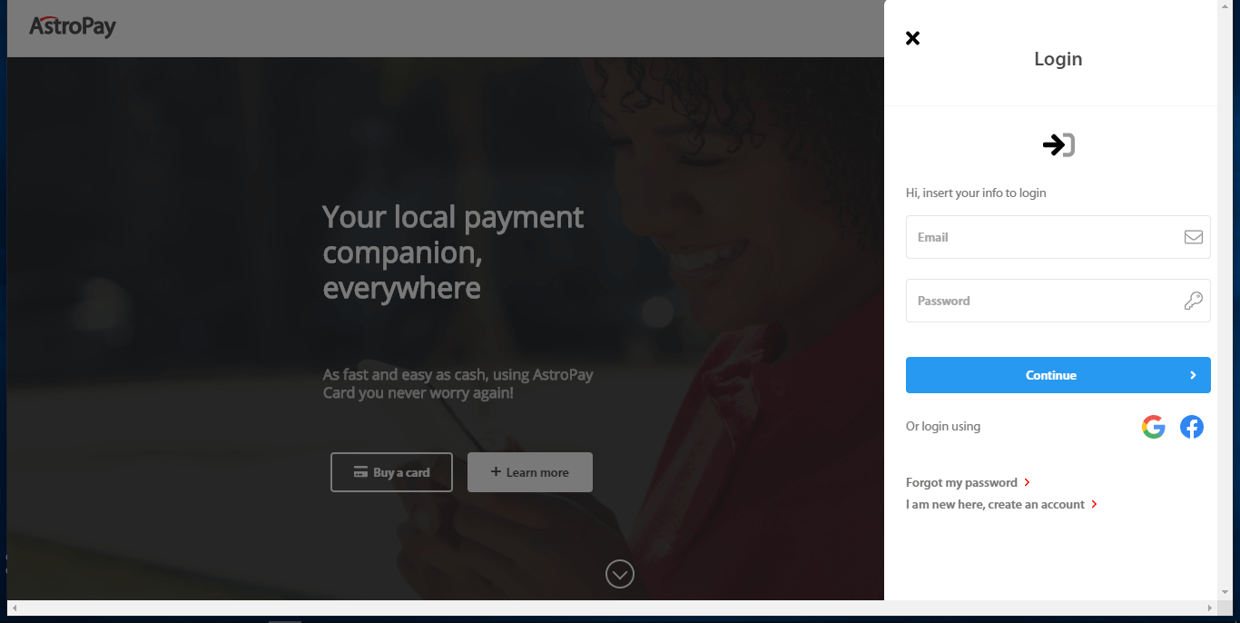 astropay account