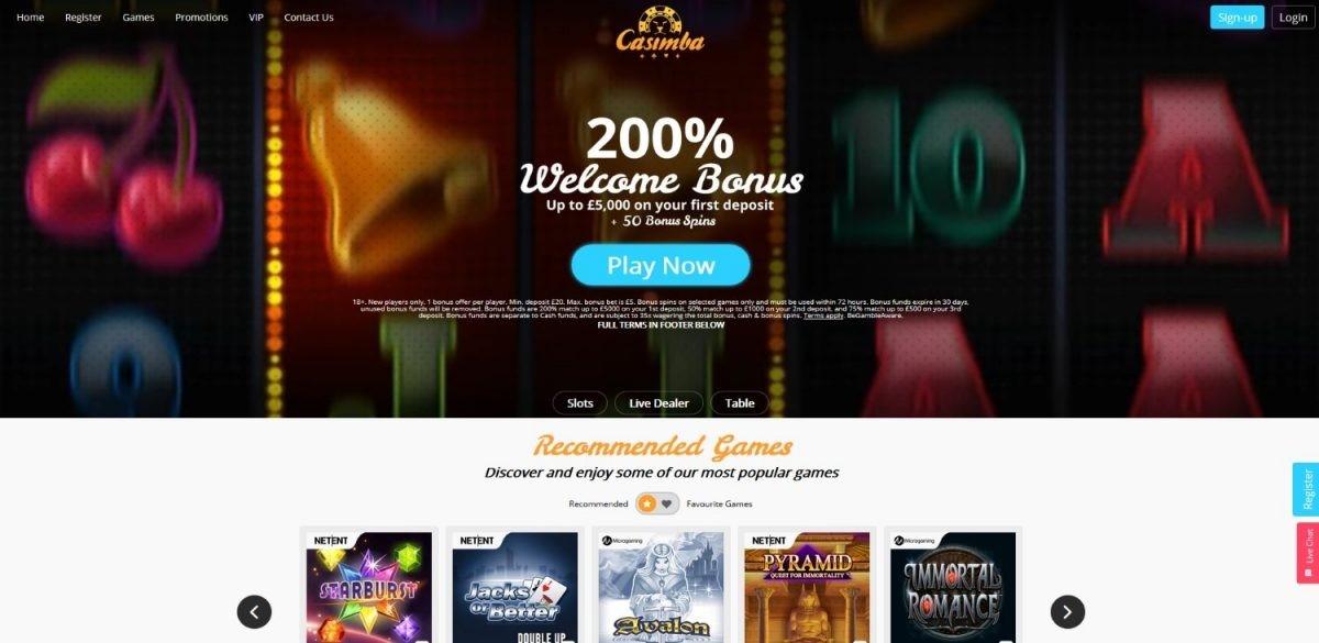 Casimba Casino New Zealand