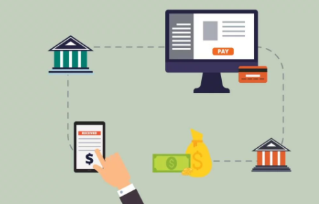 Illsutration of how payday loans work fromonline application to getting funded