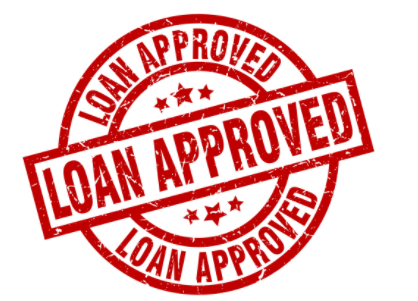 loan approved sign