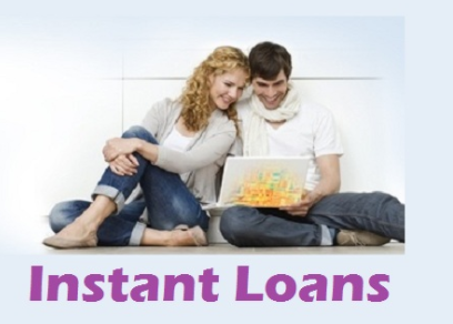 Man and woman on laptop illustrating cheap loans