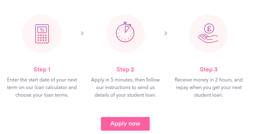 Loan application page of Smart Pig