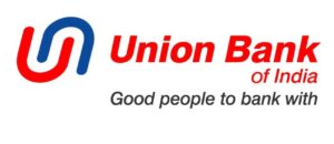 Union Bank of India Logo featuring the GOOD PEOPLE TO BANK WITH mantra