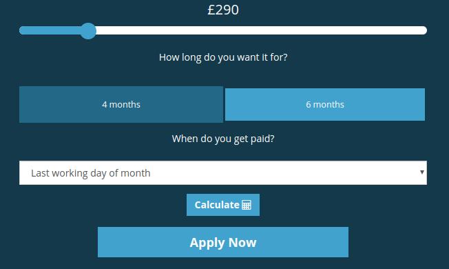 Cash4UNow loan application page