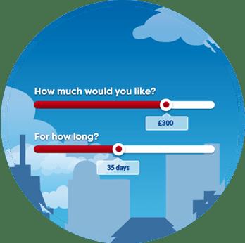 loan amount and loan terms on loanpig loan application form