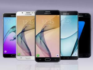 Samsung smartphone lineup