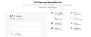 Customer Service at Capital.com