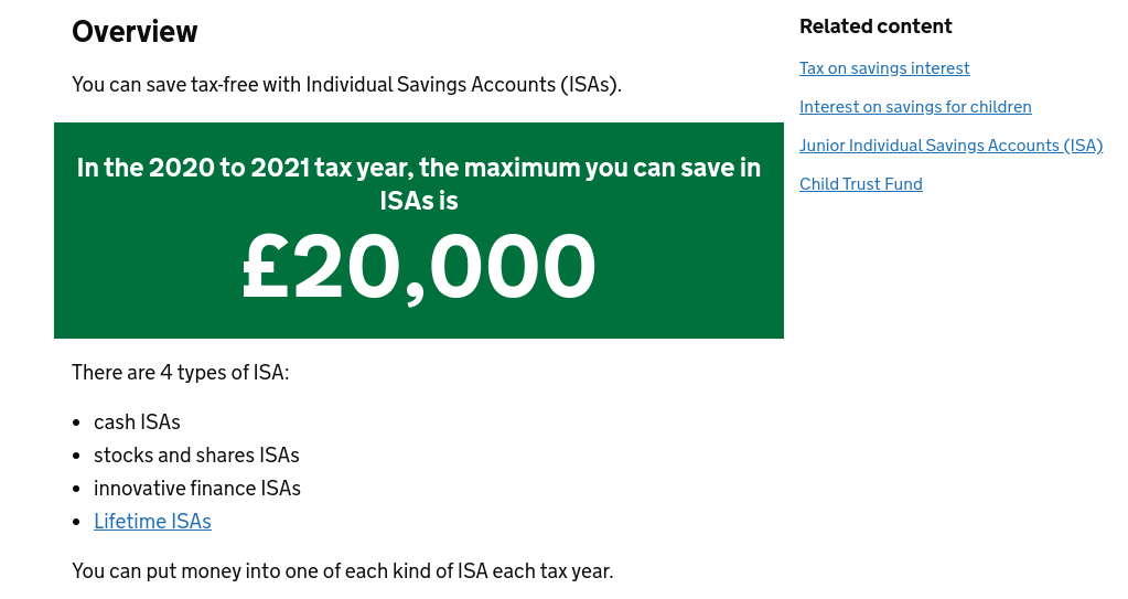 Best ISA Investments