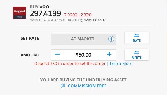 Invest at eToro