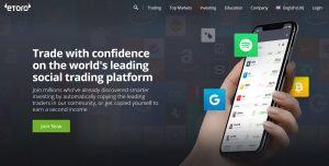eToro Create an Account UK