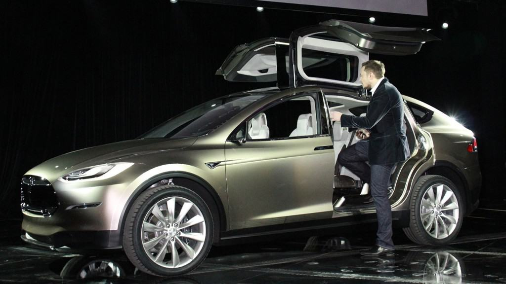 Tesla Motors Inc Model X SUV