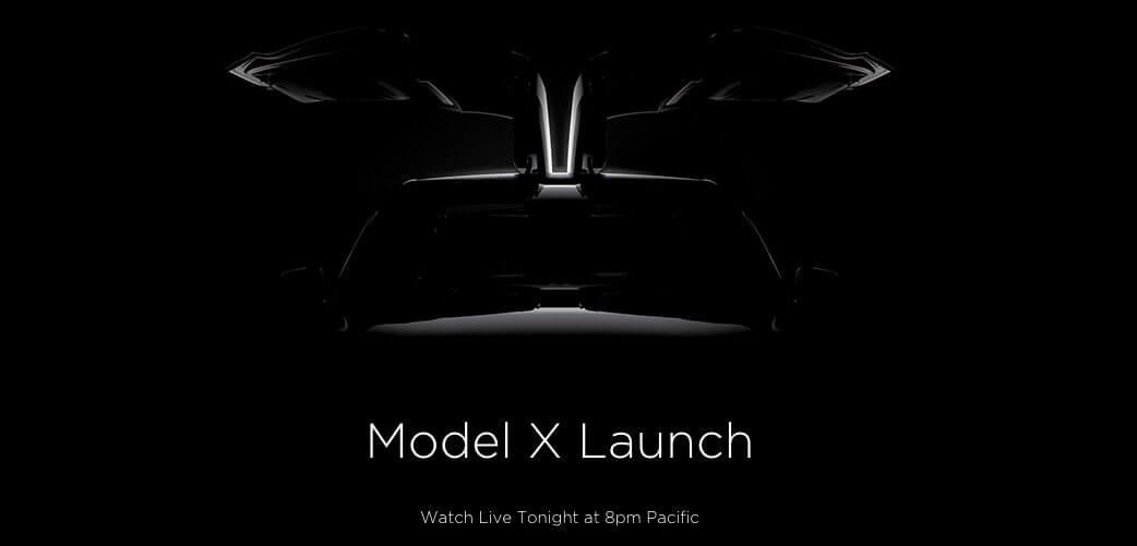 Tesla Motors Model X Announcement