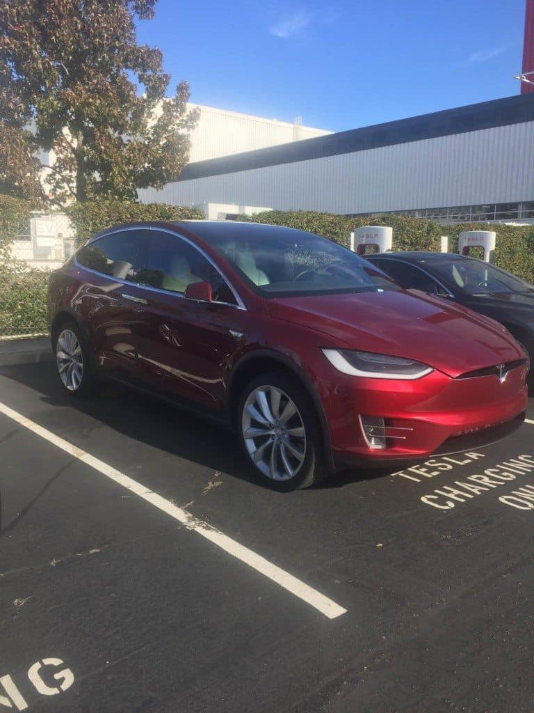Tesla Motors Inc Model X sneak peak