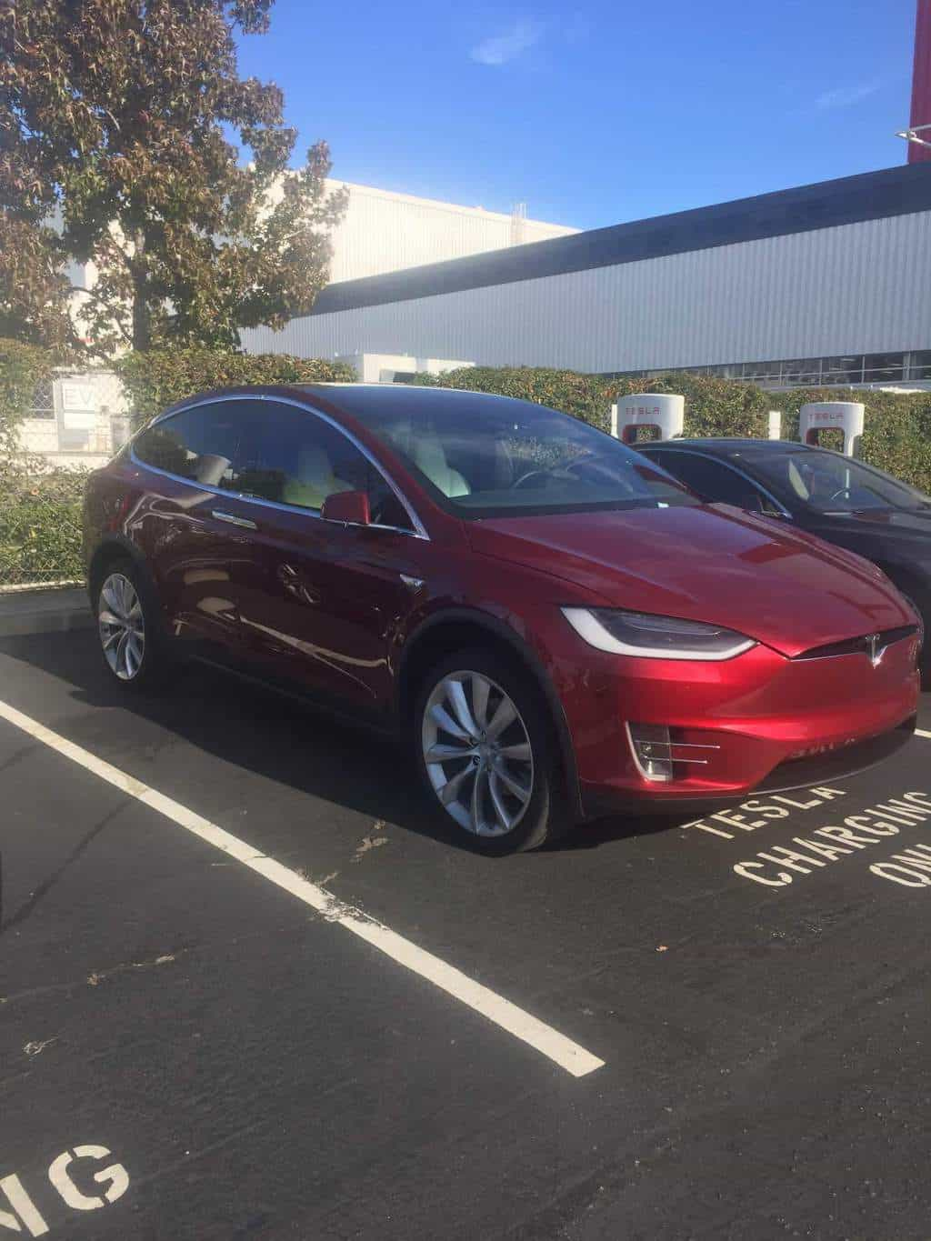 Tesla Motors Inc Model X sneak peak