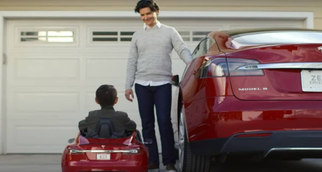 Tesla Motors Model S for Kids