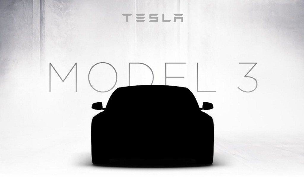 Tesla Motors Inc (TSLA) Model 3 Source: Tesla