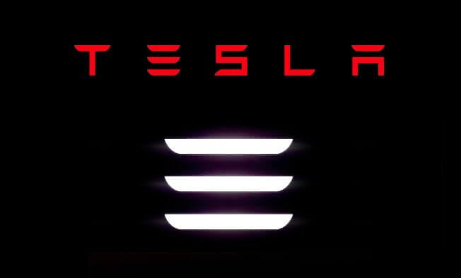 Tesla Motors Inc (TSLA) Model 3 Logo