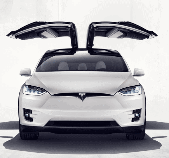 Tesla Inc stock flies on china deal Model X Falcon Wing Doors
