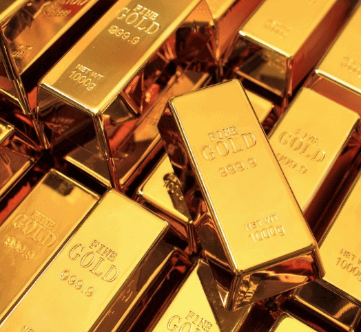 Gold Bars - Square NUGT - Gold Price