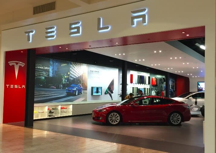 Tesla Inc (TSLA) Store in Southern California