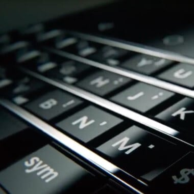 Blackberry Ltd (BBRY) Keyboard