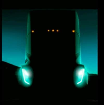 Tesla Semi small