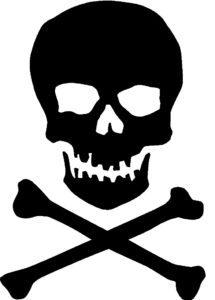 skull image - penny stocks