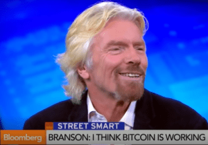 Has richard branson invests in bitcoin