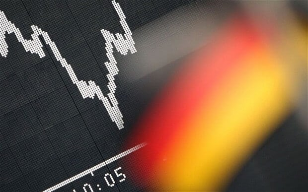 German Bonds Nosedive Towards The Negative Territory