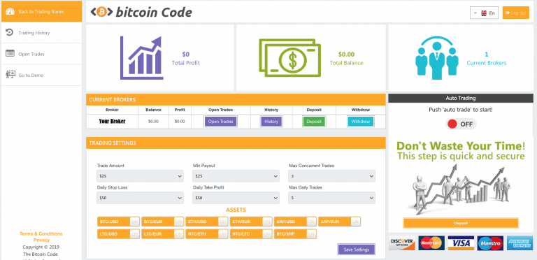 Learn More About Bitcoins With Bitcoin Code – The Auto-Trading Robot