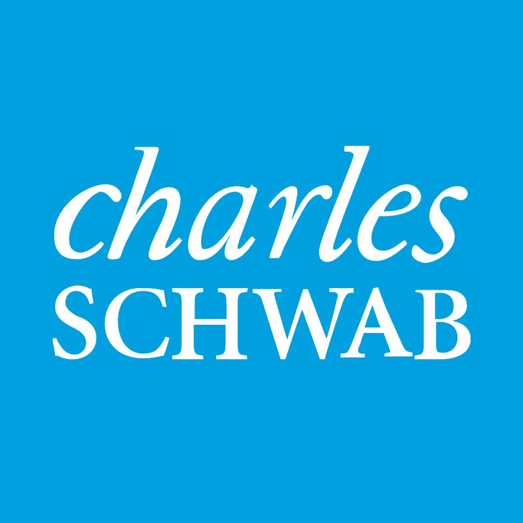 charles schwab logo stock brokers