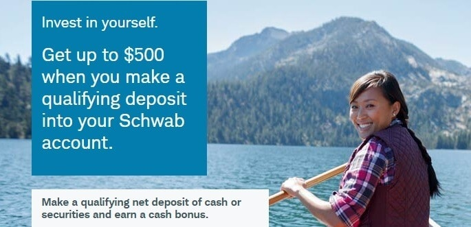 Charles Schwab Review : Charles Schwab promotions, rewards, and bonuses