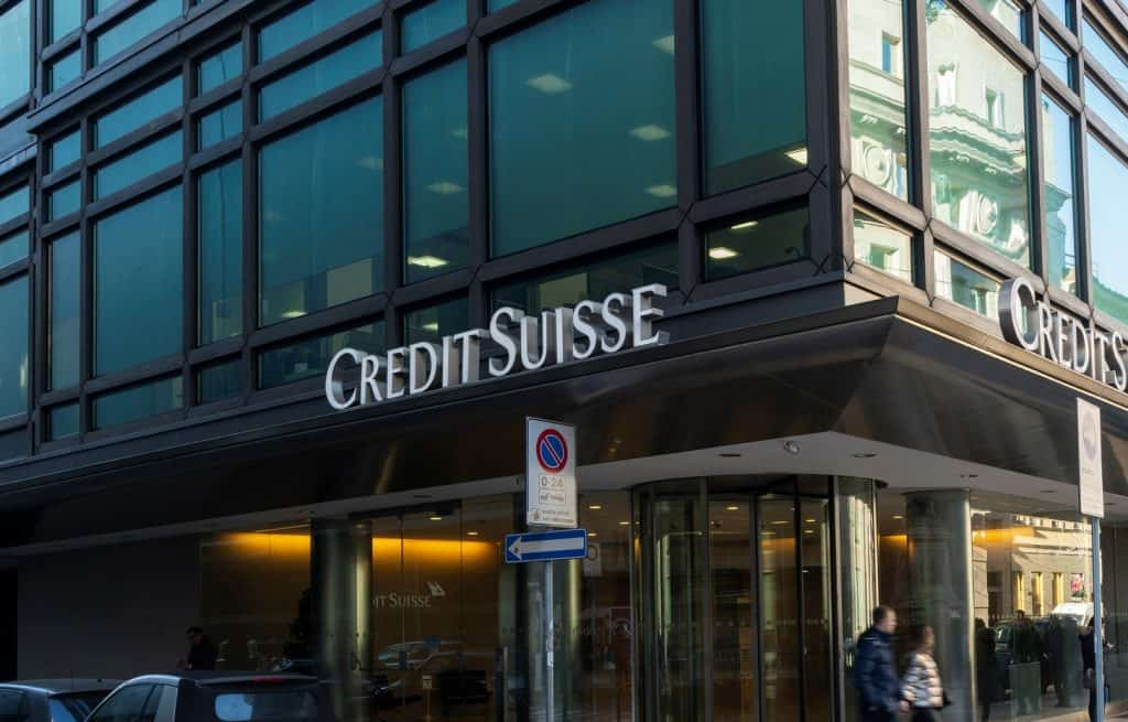 Credit Suisse Reports Quarterly Earnings, Figures Highest in Four Years