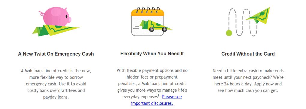 Mobiloans Line Of Credit...