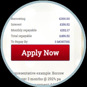 Loan application page of Bingo Loans