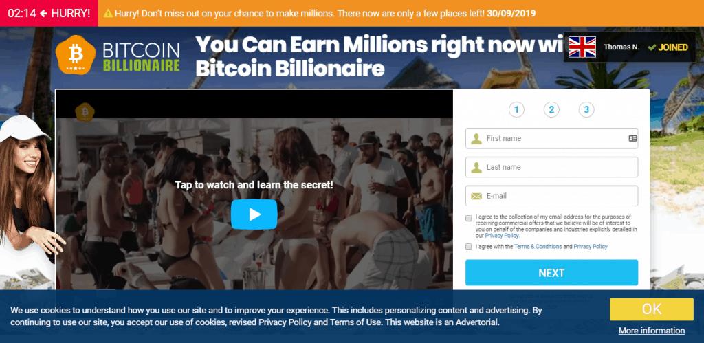 bitcoin millionaire uk