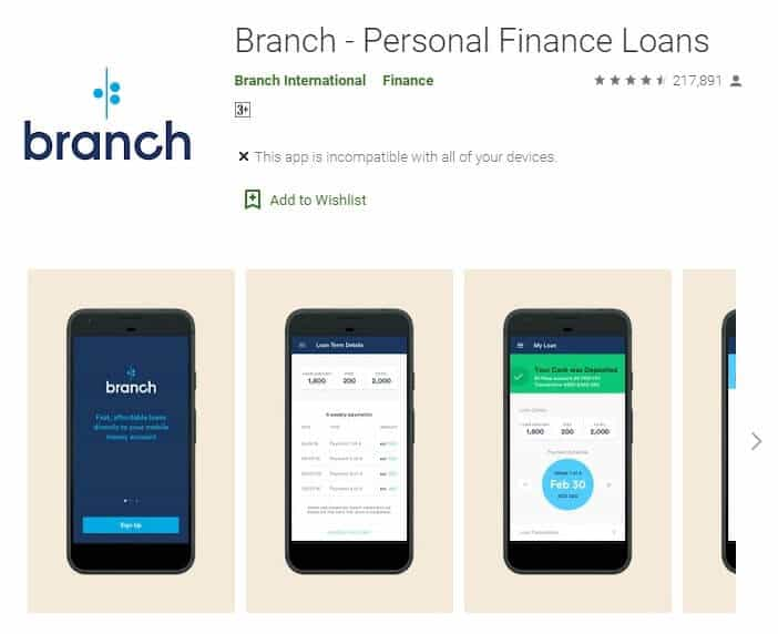 Branch App Loan Review...