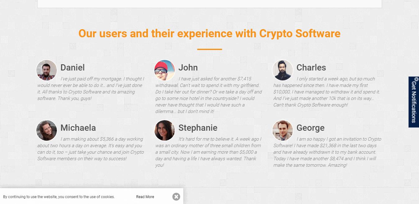 Cryptosoft Review: Cryptosoft User reviews