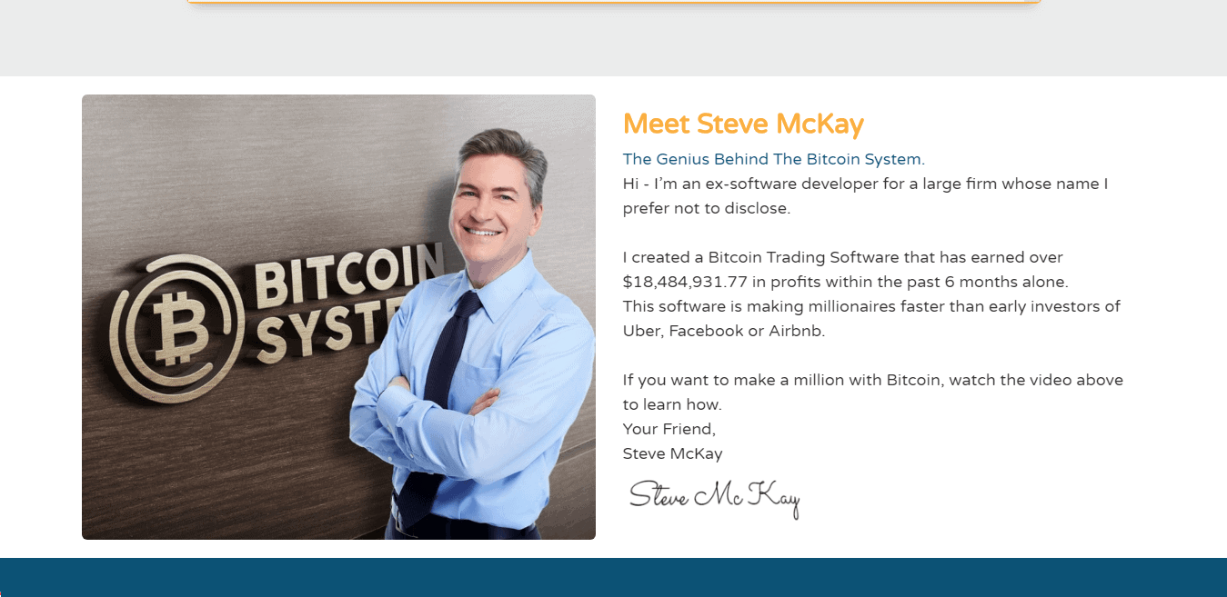 Bitcoin System Review : Steve McKay - Bitcoin System Bot Creator