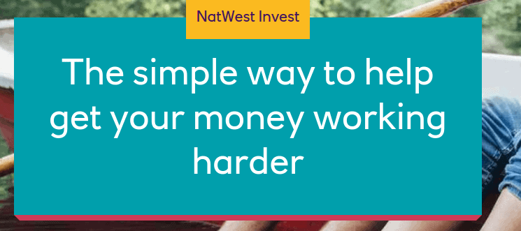 Screengrab of NatWest investment page