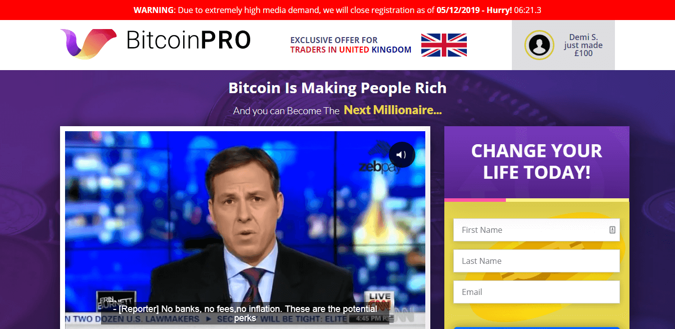 Bitcoin Pro Review :...