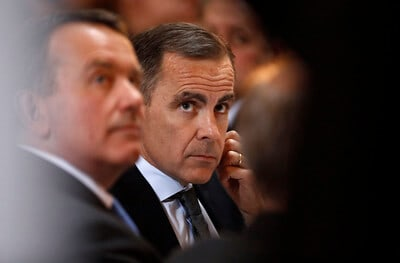 Bank of England governor Mark Carney