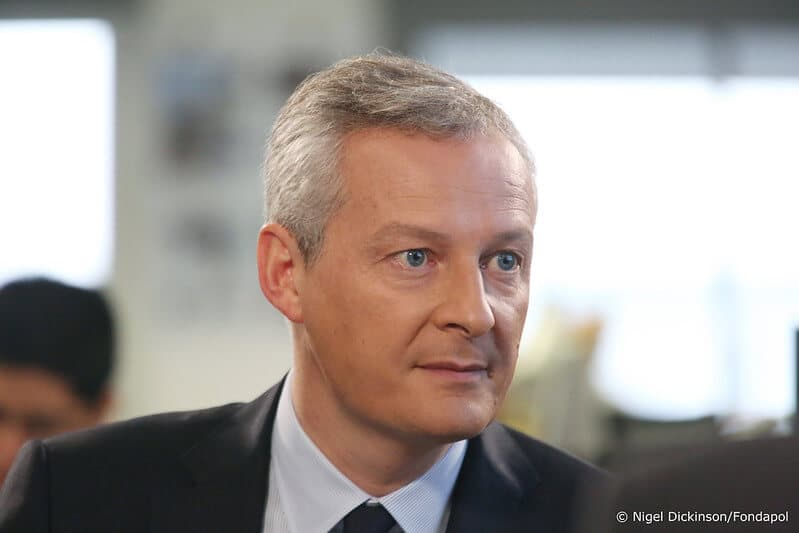 French finance minister Bruno Le Maire on digital taxes