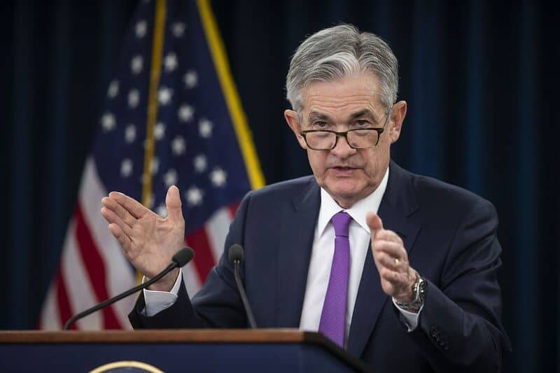 The Fed chairman Jerome Powell affect gold price
