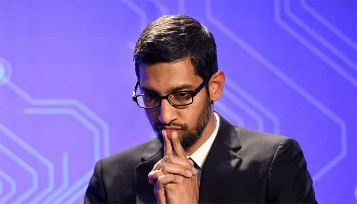 Alphabet chief executive Sundar Pichai