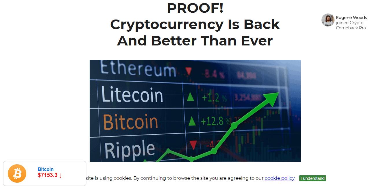 Crypto Comeback Pro Review...