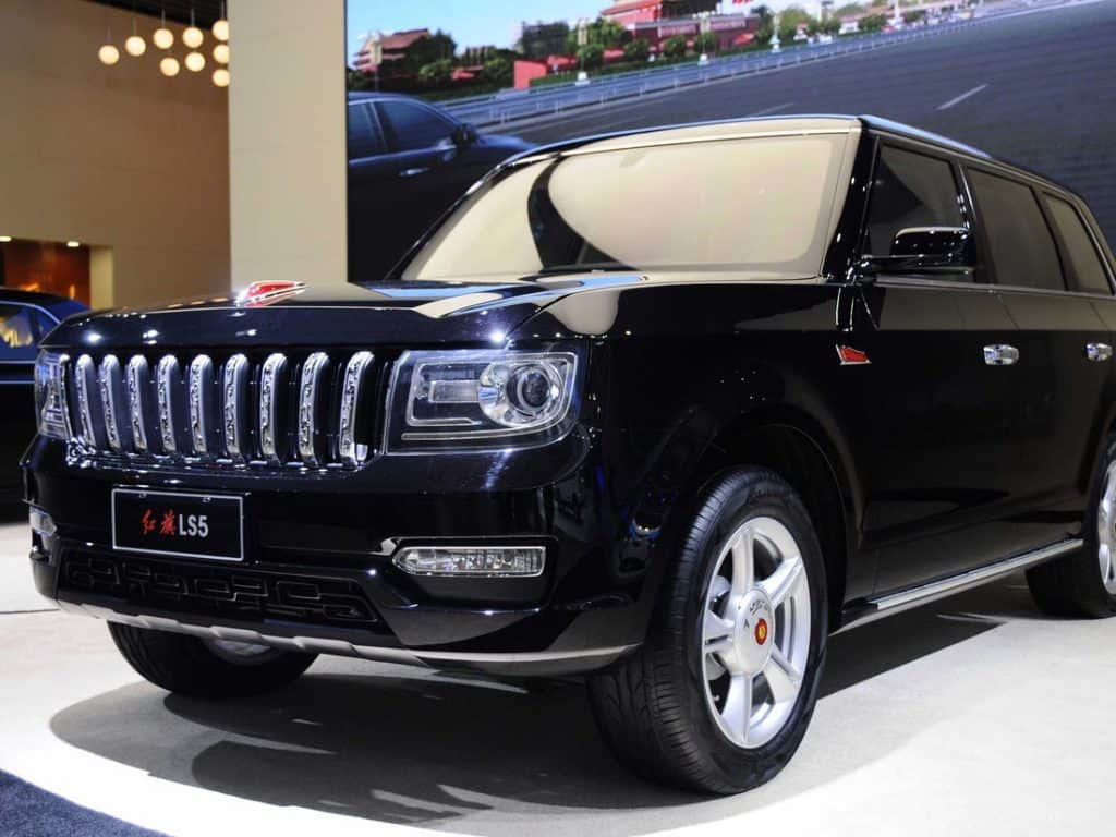 Hongqi Car Brand Plans to Produce 1 Million Cars by 2030
