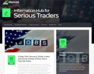 Information hub for the serious traders