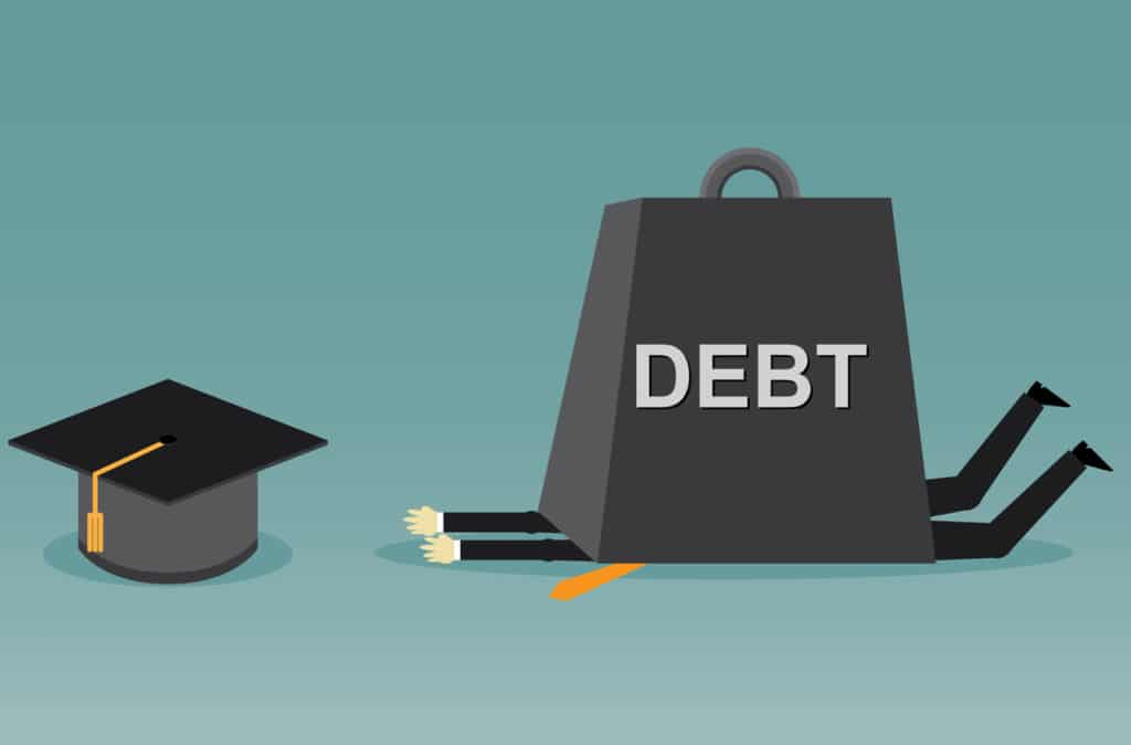 Debt and repayments