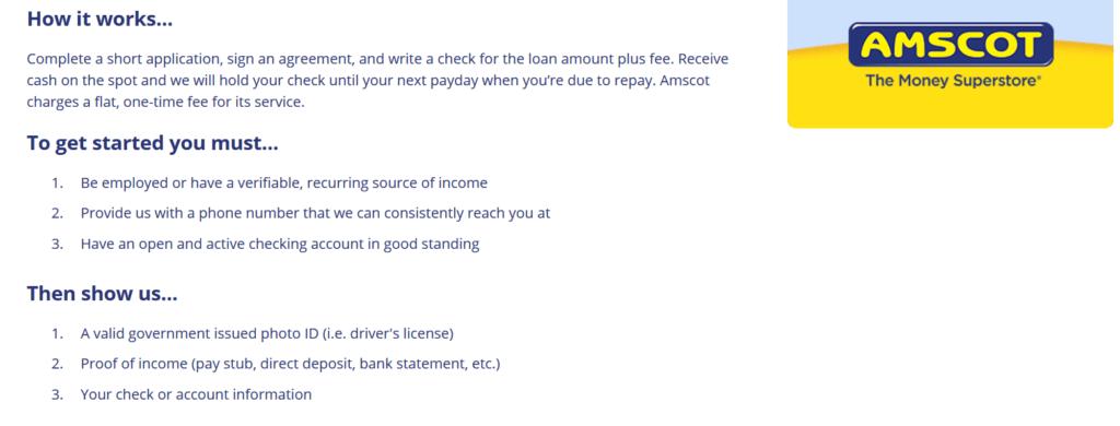 Amscot Loan Review –...